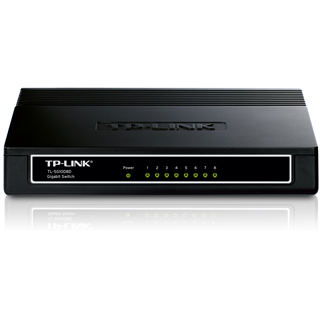 TP-Link TL-SG1008D Switch 8x1Gigabit
